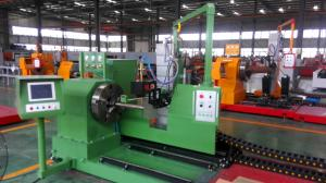 China 800mm OD Chuck Pipe Plasma Cutting Machine on sale
