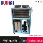 Refrigerador de agua refrescado aire de la industria plástica con el certificado del ISO