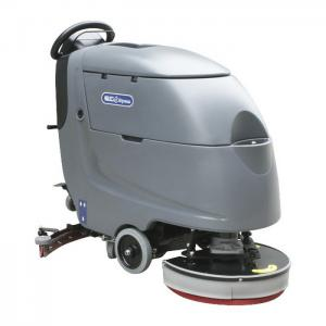 China Gray Walk Behind Floor Cleaning Machines / Ceramic Tile Floor Cleaner Machine on sale