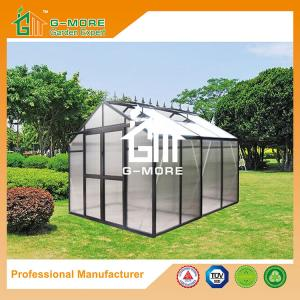 China Premium Imperial Series Optional PC/Glass Glazing, Freely Extended Easy DIY Glasshouse - 258X253X250CM (L X W X H) on sale