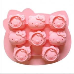 China hello kitty silicone cake mould on sale
