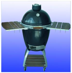 China Barbecue Cookers, Ceramic Kamado Grill, Oval Big Green Egg COven For Outdoor bbq on sale