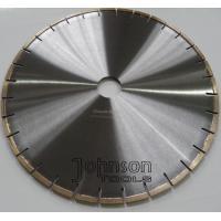 "Narrow U Slot Type Diamond Stone Cutting Blades High Efficiency Wet Cutting 12""- 64"""