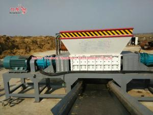 China Large Capacity Bio Waste Shredder Multi Purpose Mixed Scrap Or Waste Materials on sale