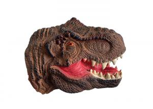 China Animal Model Childrens Dinosaur Toys , Plastic Cement Interactive Dinosaur Toy on sale