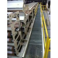 Triple Layer Conveyor Bridge With Two Hand Railings , Stairs Three Groups
