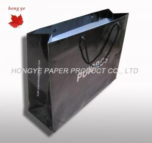 China Food Personalized Printed Paper Carrier Bags , Gift Packaging Bag on sale