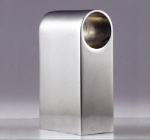 China O metal personalizado chapeamento de cromo de 180 graus reforçou o alumínio material e liga de zinco para chapear on sale