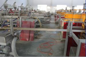 China YF240 WPC profile extrusion line on sale