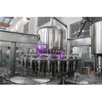 Plastic Bottle Fresh Juice Filling Machine PLC Control With Touch Screen