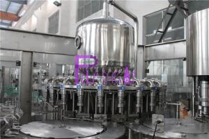 China Plastic Bottle Fresh Juice Filling Machine PLC Control With Touch Screen on sale