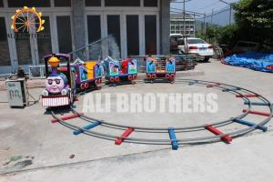 China Shopping Mall Amusement Train Rides , Thomas Track Kiddie Train Ride on sale