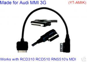 China Audi Music Interface AMI Cable iPod iPhone MMI MDI VW  on sale