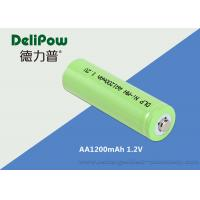 1200mAh 1.2V AA NIMH Rechargeable Battery With SGS / MSDS Certification