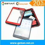 Red Ipad Mini Protective Case With Wallet , Dust Resistant