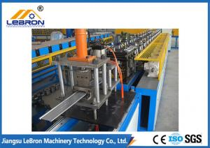 China Automatic Galvanized Shutter Door Roll Forming Machine For Shutter Slats Production on sale