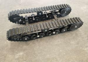 China ISO9001 Passed Rubber Steel Track Undercarriage DP-BGM-100 Robot Machinery Parts on sale