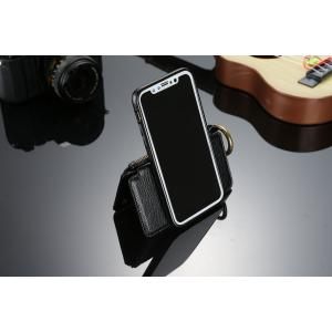 Quality Iphone X Iphone 10 Detachable Vehicle Mounted Case 2 In 1 Lichi Leather Material for sale