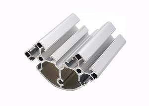 China Triangle Aluminium Track Profiles , Aluminium Corner Trim Square Shape on sale