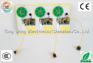 China Персонализированные записываемые ядровые обломоки для игрушек, записываемого модуля голоса on sale