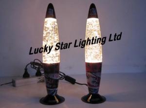 China glitter lamps on sale