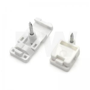 China Fiber Optic Cable Clip With Concrete Nail Drop wire clamp flat cable clip flame resistant clip on sale