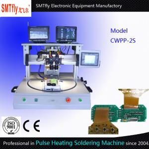 China Rotary Table Type Pulse Heating Hot Bar Soldering Machine Welding Machine on sale