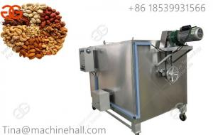 China Types of nuts processing equipment for sale/ nuts roaster machine factrory price China supplier on sale