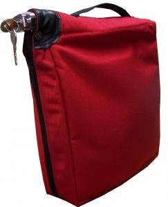 Quality Portable Locking Bank Deposit Bags For Home Security Zipper