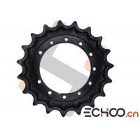 Kobelco SK50SR Black Mini Excavator Drive Sprockets With HRC52-56 Hardness