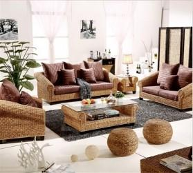 Rattan + Seagrass Sofa Series 32