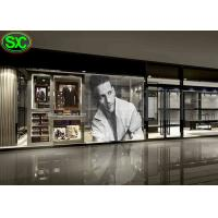 China Flexible Magic Window Glass Transparent LED Screen Display P6.25 on sale