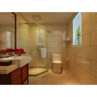 China 3mm - 19mm Coated Bathroom Shower Glass Panel , Low Iron , Crystal Clear , 3660mmx15000mm on sale
