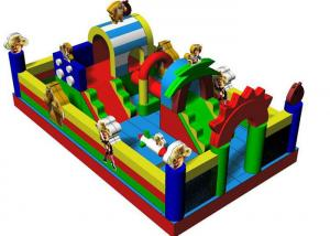 China Customized Boonie Bears Inflatable Jumping Castle Water Proof Fire Retardant on sale