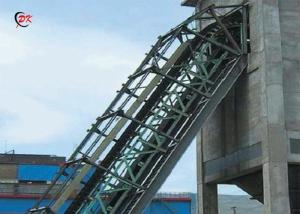 China Vertical Sidewall Conveyor Belt Lifting Machine Industrial Dust Collecting Line on sale