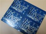 Bicheng PCB Built On 24 Layer With Castellation Plated Edges and blue soldermask