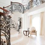 Deck/balcony/stair railing, wrought iron fence, cast iron railing,outdoor iron railing