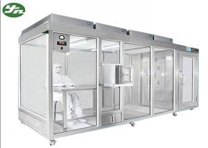 China Ultra Clean Down Flow Clean Room Booth Class 100-100,000 For Cosmetic Industry on sale