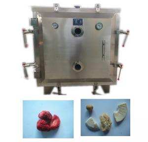 China Low Temperature Fruit Vacuum Drying Machine Safe With GMP Stainless Steel on sale
