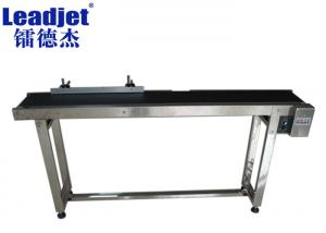 China Stainless Steel Automatic Flat Belt Conveyor 200mm Belt Width For Eggs Transmitting on sale
