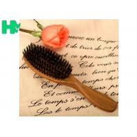 China Ebony Material Natural Sandalwood Green Tan Hair Comb , Wooden Comb Style on sale