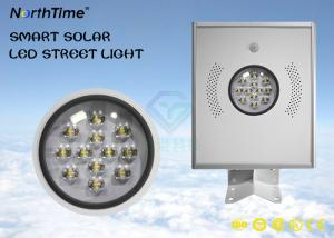 China High Brightness LED Street Lamp , 12W Solar Panel Garden Street Lamp on sale