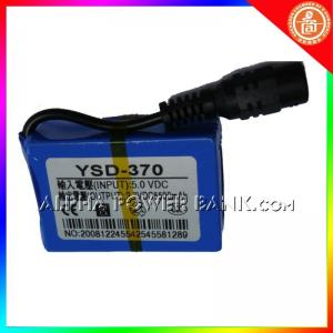 China 12v volt rechargeable battery pack 5500mah  on sale