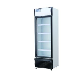 China Automatic Industrial Refrigeration Equipment Glass Door Beverage Display Cooler on sale