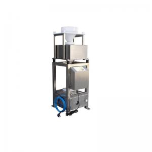 China Gravity Free Fall Metal Separator Machines For Food / Plastic Industry on sale
