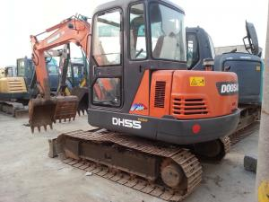China Used DOOSAN DH55 5.5 Ton Mini Excavator,Used Mini Excavator For Sale on sale