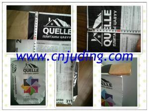 China kraft paper cement bag, 3-layer paper bag on sale