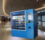 Automatic Operated Frozen Food Refrigerated Vending Machines Made From Reliable Steel