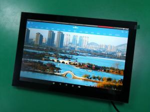 China No battery design 10 inch screen Q8919 with wifi,lan port for smart control on sale