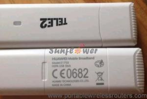China Huawei e1750 3G Modem for Tablet PC , wireless portable modem  plug and play on sale